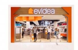 Evidea 2021 yılı sonuna kadar 30 mağazaya ulaşacak!