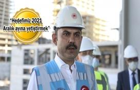 Murat Kurum'dan İstanbul Finans Merkezi açıklaması!