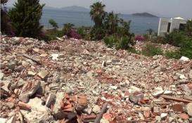 Bodrum Odak Tatil Köyü yıkıldı!