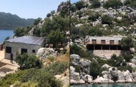 Demre'deki doğal sit alanına kaçak villa inşa ettiler!