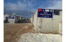 İdlib Esenler Köyü'ne 300 briket ev yapılacak!