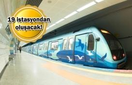 Kabataş-Mahmutbey Metrosu nereden geçecek?