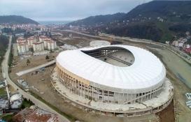 Çotanak Stadı'nda çalışmalar son aşamaya geldi!