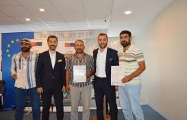 Mahir Eller Projesi ile 111 inşaat çalışanı sertifikalarını aldı!