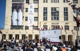 Katar Gazze'de rehabilitasyon ve protez hastanesi açtı!