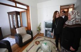Denizli Büyükşehir'den evi yanan vatandaşa yeni ev jesti!