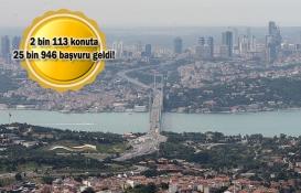 İstanbul'da 2 bin 113 ucuz konutun kurası için son günler!