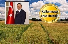 Cumhurbaşkanlığı'ndan köylülere arazi