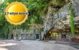 Dünyanın en lüks mağarası Beckham Creek satışa çıktı!