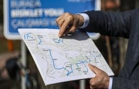 Başkentte 'Bisiklet Yolu Projesi' için ilk kazma vuruldu!