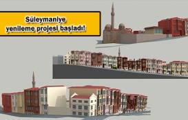 KİPTAŞ Süleymaniye'yi tarihi dokusuna uygun inşa edecek!