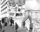 Boyabat Belediye binası, hizmete girmeden yıkıldı!