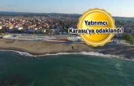 Karasu yeni yatırımlarla Kanal İstanbul ile yarışıyor!