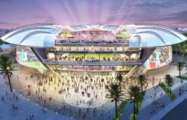 Inter Miami'nin 970 milyon dolarlık yeni stadyumu büyülüyor!