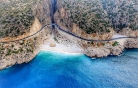 Kaputaş Plajı'ndan geçecek yola mahkeme engeli!