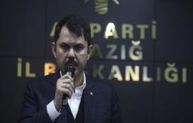 Murat Kurum: Elazığ'da 19 bin konutun projelerini başlattık!
