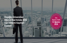 Özyeğin Üniversitesi MBA in Real Estate kayıtları başladı!
