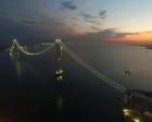İzmit Körfez Geçiş Köprüsü ışıklandırıldı!