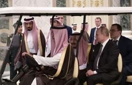 Putin ve Suudi Kral Abdülaziz işbirliği anlaşması imzaladı!