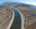 Antalya Aksu Çayı Taşkın Koruma inşaatının yüzde 70'i tamam!