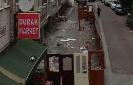 Avcılar'da ağır hasarlı bina 4 aydır yıkılmayı bekliyor!