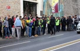 Kabataş-Beşiktaş-Mecidiyeköy Metro Hattı inşaatı işçilerinden eylem!