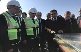 Cahit Turhan, Konya Yüksek Hızlı Tren Garı inşaatını inceledi!
