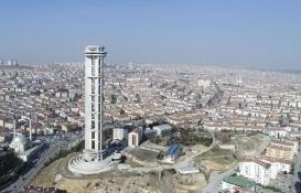 Ankara'daki Keçiören Kulesi inşaatına 60 milyon TL'lik bütçe!