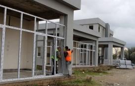 Gazipaşa Kültür Merkezi inşaatı hızla yükseliyor!