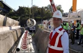 Ayvalıdere Yağmur Suyu Tüneli TBM indirme töreni yapıldı!
