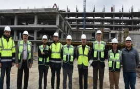 Tekirdağ Büyükşehir yeni hizmet binasının inşaatı tamamlanıyor!