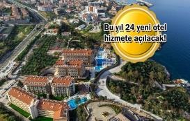 Türkiye'de 43 yeni otel inşa ediliyor!