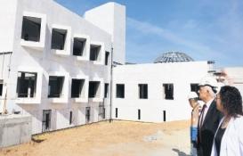 Muğla Bölge Müzesi'nin yüzde 70'i tamamlandı!