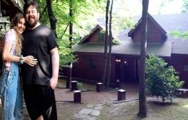 Berfu Yenenler ve Eser Yenenler orman içinde ev kiraladı!