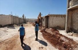 TDV'den engelli, yetim ve şehit ailelerine Suriye'de konut!
