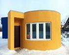 3D yazıcıyla 24 saatte ev inşa edildi!