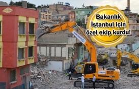 İstanbul'a özel kentsel dönüşüm timi!