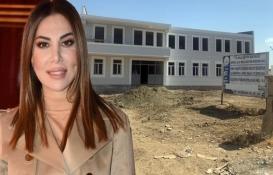 Ebru Yaşar, Bismil'de okul yaptırdı!