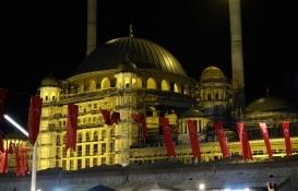 Taksim cami özellikleri