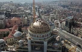 Taksim Cami'nin kaba inşaatının yüzde 85'i tamam!