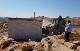 Şanlıurfa Eyyübiye'deki 14 kaçak yapı yıkıldı!