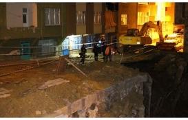 Esenler'de istinat duvarı çöken inşaatta 'zemin iyileştirme yapılmadı' iddiası!