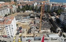 Taksim opera binası yükselmeye başladı!