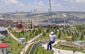 Gölbaşı'nda şehir parkı açıldı!