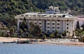 Katar Şeyhi'nin Marmaris'teki oteli kaderine terk edildi!