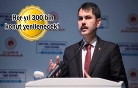 İstanbul'da 200 bin konut yenileniyor!