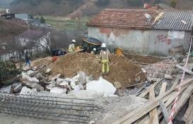 Arnavutköy'de inşaat kazısında göçük!