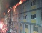 İkitelli Organize Sanayi Bölgesi'nde yangın çıktı!
