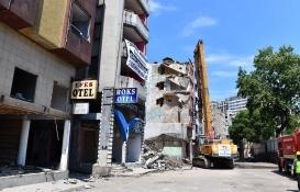 Trabzon Çömlekçi'de yıkımlar başladı!