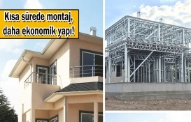 Depreme dayanıklı 'prefabrik hafif çelik evler' ile güvende yaşam!